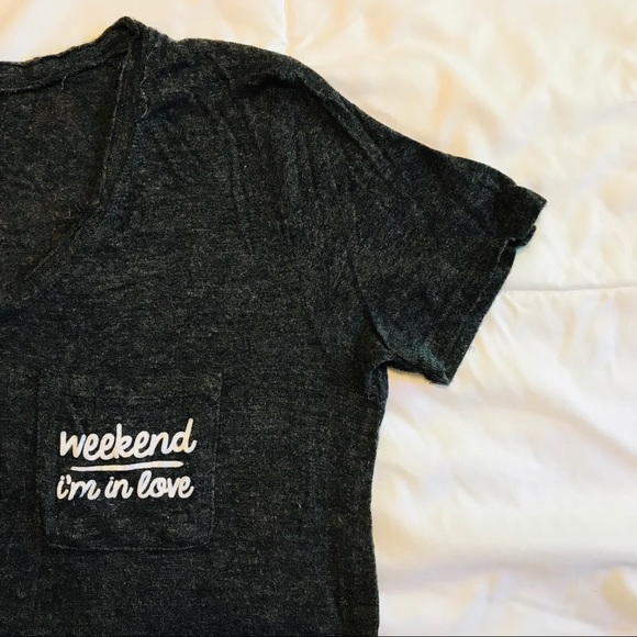 094da82e1f74 Well Worn Tops | Target Soft Distressed T W Pocket Quote Detail ...